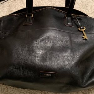 Butter soft leather Fossil bag